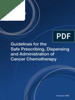Cosa Guidelines Safeprescribingchemo2008