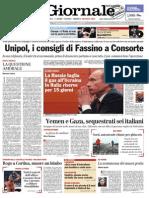 Il Giornale, prima pagina 2/1/2006