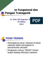 Makanan Fungsional Dan Pangan Transgenik