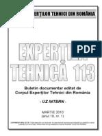 Buletin 113 Coperta 1