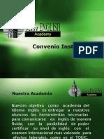 Convenio Institucional