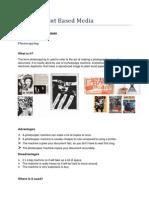 unit 18 print based media