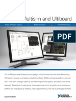 NI Multisim and Ultiboard Brochure