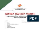 NT 16_2014_Seguranca Em Areas de Piscinas