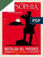 Nostalgia Del Presente - Pesaro 2014 - Programma
