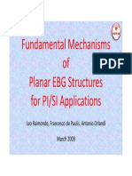 3 2 1 Fundamental Mechanisms of Planar EBG Structures for PISI Applications
