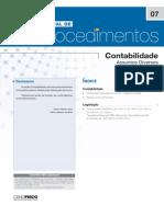 Manual de Procedimentos - Cenofisco Nº 07 (Bancos Conta Movimento)