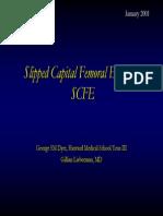 Slipped Capital Femoral Epiphysis