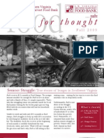 Fall 09 Food for Thought Newsletter