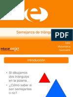 Semejanza de Triángulos (1)