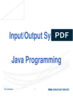 Java Input Out Put