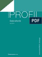 ArzneimittelPROFIL Dabrafenib_2014