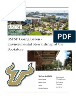 USFSP Going Green- Environmental Stewardship at the Bookstore