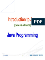 Introduction to Java Fundamentals