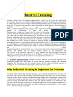 Make your career through Industrial Training