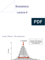 Biostatistics - Normal Distribution