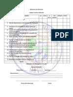 rubricas de evaluacion  hojas de cotejo diario de campo