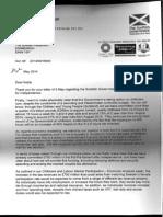 Childcare - Alex Salmond Response