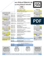2014-2015 school calendar for parents 2 26 14
