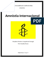 O Que é a Amnistia Internacional