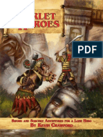 Scarlet Heroes - Sword and Sorcery Adventures for a Lone Hero
