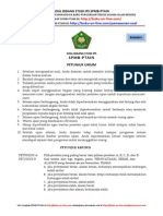 Soal Bidang Studi Ips Spmb Ptain 6