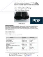 Medium Wall Heat Shrink Tubing With Black Sealant Mastic