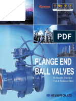 Flanged Ball Trunnion Valves