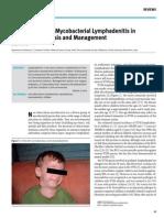 Non-Tuberculous Mycobacterial Lymphadenitis In