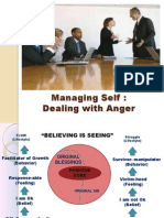 2. Managing Self With Anger