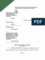 Mediation Settlement Agreement