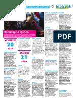 Programme de La Fête de La Musique 2014 en Haute-Loire