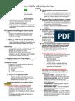Finals - Administrative Law
