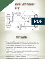 Proiectarea Sistemului de Franare(Prezentare)