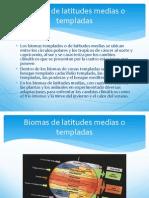 Biomas de Latitudes Medias