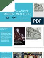 Analisis Palacio de Mineria