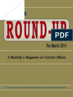 Round-Up March 2014 Edition