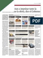 Medidas Apuntan a Impulsar La Demanda y La Oferta_Gestión 20-06-2014