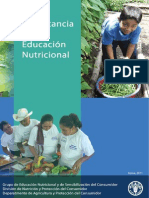 La Importancia de La Educación Nutricional_FAO -Light