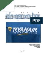 Analiza Companiei Aeriene Ryanair