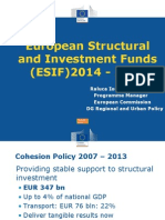 ESIF 2014 2020 RI Corridor Forum