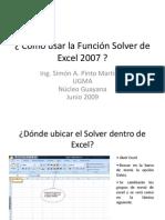 Ver de Excel 2007