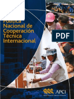 T023600004939-0-Politica Nacional de Cooperacion Tecnica 2012