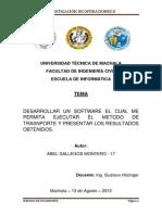 InformeMetodoTrasnporte