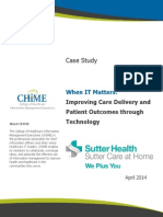 Sutter at Home Case Study