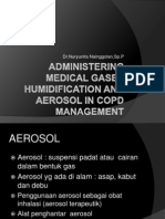 Administering Medical Humidification and Aerosol SYMPOSIUM FK UISU