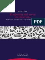 El salvador del error. Confesiones - Algazel.pdf
