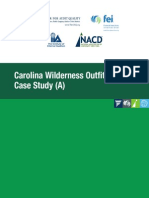Carolina Wilderness Outfitters Case Study