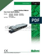 MCW Fan Coil 300 a 1200 CFM