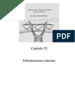 CAPITULO IX (Sobretensiones Internas)